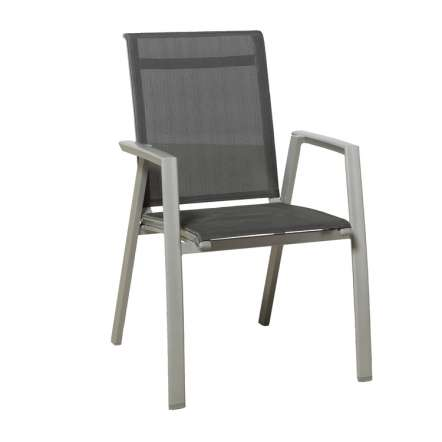 Perfekt Gala Dining Chair Carbon Grey/anthracite