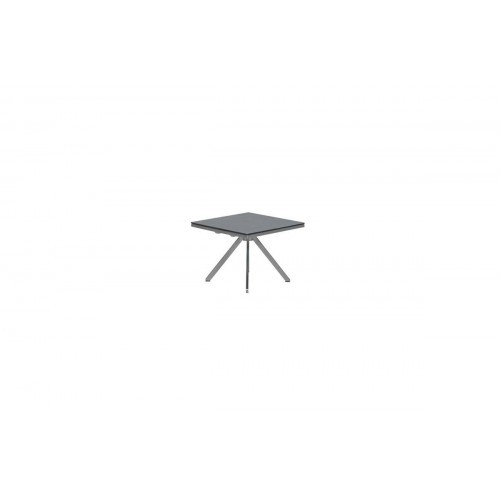 Sidetable Glas Rvs.Zermatt Side Table 50x50 Rvs Glass